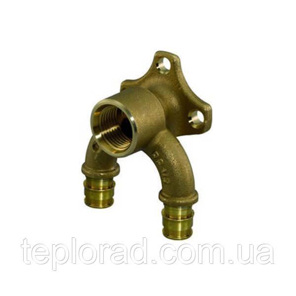 Водорозетка с фланцем Uponor Smart Aqua Q&E PL 16-Rp1/2 ВР (1059822)