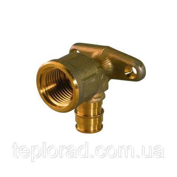 Водорозетка с фланцем Uponor Smart Aqua Q&E PL 20-Rp1/2 ВР l=43 мм (1023035)