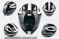 Шлем-интеграл   mod:R1 size:L, черно-белый, CLASSICO  HJC