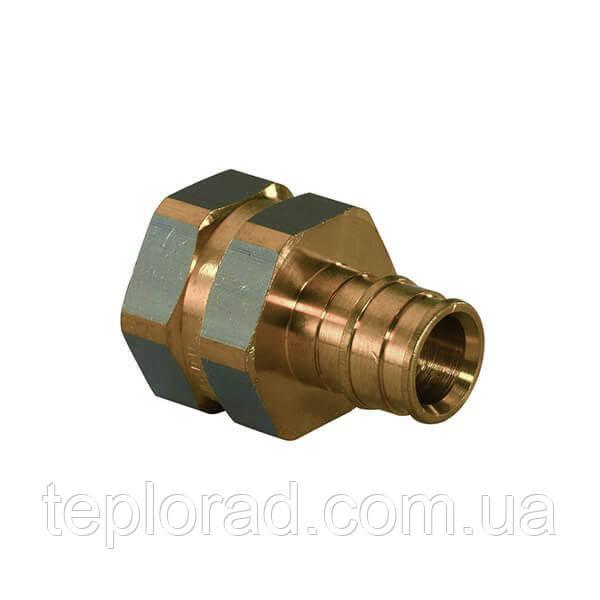 Штуцер Uponor Q&E латунный с внутренней резьбой PL 16-Rp1/2 ВР (1023009)