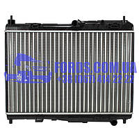 Радіатор двигуна FORD FIESTA 2008- (1.25/1.4/1.6 ZETEC) (2029176/8V518005BF/CS7680) DP GROUP