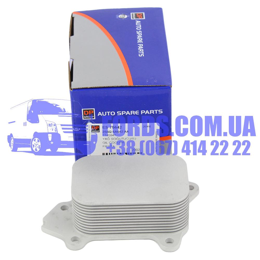Радіатор масляний FORD FIESTA/FUSION/FOCUS (1.4 TDCI/1.6 TDCI) (1145941/2S6Q6A642AA/ES75642) DP GROUP