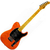 Электрогитара G&L ASAT Z3 (Clear Orange, maple, 1-ply Black) № CLF50966