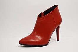 Красные ботинки на шпильке Nivelle