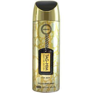 Парфюмированный дезодорант мужской  Tag-Him Prestige Edition 200ml.  Armaf (Sterling Parfum)