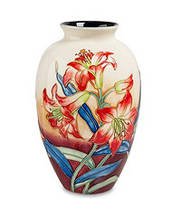 "Фарфоровая ваза ""Лилии"" (Pavone) JP-98/ 8"