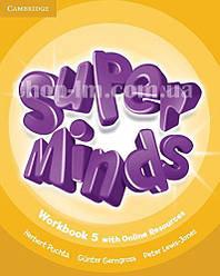 Super Minds 5 Workbook with Online Resources / Рабочая тетрадь