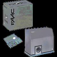 Привод FAAC 851 — автоматика для откатных ворот (створка до 1800 кг)
