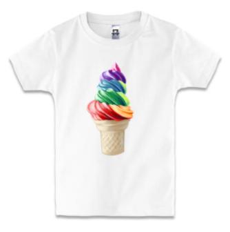 Детская футболка GOURMET ICE-CREAM