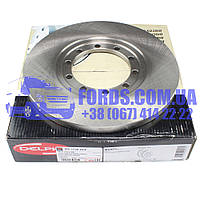 Диск тормозной задний FORD TRANSIT 2006- (D=280 FWD) (1451161/6C112A315BB/BS1720DLP) DELPHI