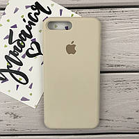 Чехол для iPhone 7 Plus/8 Plus Original silicone молочный