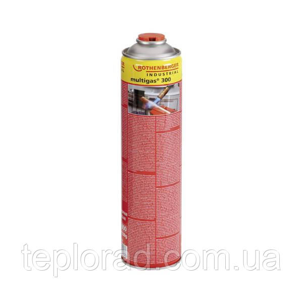 Баллон газовый MULTIGAS 300 Rothenberger (600 мл) (3.5510)