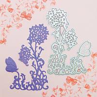 Нож для вырубки и тиснения Tonic studios - Butterfly Die 1 - Flava , 551Е