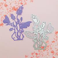 Нож для вырубки и тиснения Tonic studios - Butterfly Die 3 - Rosea , 553Е