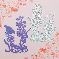 Нож для вырубки и тиснения Tonic studios - Butterfly Die 4 - Sabata , 554Е