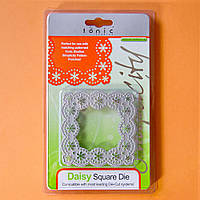 Нож для вырубки Tonic studios - Daisy Square Die , 225Е