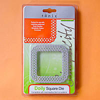 Нож для вырубки Tonic studios - Doily Square Die , 226Е