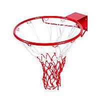 Кольцо баскетбольное с сеткой Украина