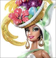 Коллекционная кукла Барби Бразильянка Банановая Удача (Brazilian Banana Bonanza Barbie Doll) W3515 Mattel, фото 3