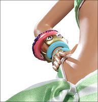 Коллекционная кукла Барби Бразильянка Банановая Удача (Brazilian Banana Bonanza Barbie Doll) W3515 Mattel, фото 5