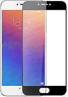Защитное 3D стекло для Meizu M3 Note на весь экран  Black