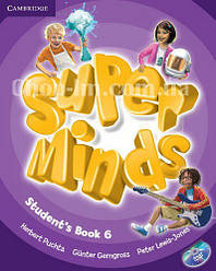 Super Minds 6 Student's Book with DVD-ROM / Учебник