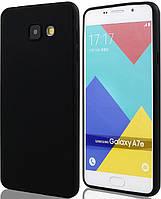 Силиконовый чехол для Samsung A710 (A7-2016) Black