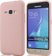 Силиконовый чехол для Samsung J120 (J1-2016) Pink