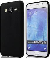 Силиконовый чехол для Samsung J510 (J5-2016) Black