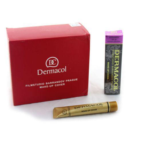🔥✅ Тональный крем Dermacol с повышенными маскирующими свойствами 210, 30 г