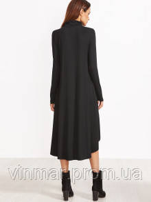 Платье свободного кроя ассиметрия