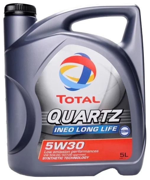Моторное масло Total 5w30 QUARTZ INEO LONG LIFE 5W-30 5л
