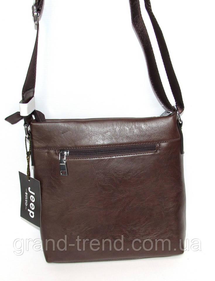 f746801815e1 Стильная мужская сумка из кожзама Jeep, цена 435 грн., купить в Хмельницком  — Prom.ua (ID#666035655)