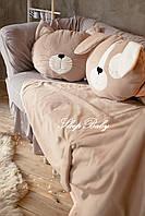 """Плед з подушкою (для дітей), комплект """"Щеня"""". Розмір S"""