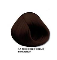 Mirella Краска для волос 4.1 темно-коричневый пепельный, 60 мл