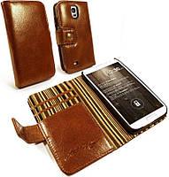 Кожаный чехол Alston Craig Vintage для Samsung Galaxy S5  Brown (B1_33)