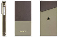 Чехол-флип Macally Rotatable Stand для iPhone 5C Brown