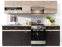 Кухня готовая в наличии цвет венге/сонома BRW