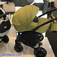 Дитяча універсальна коляска 2 в 1 Riko Sigma 05 Olive
