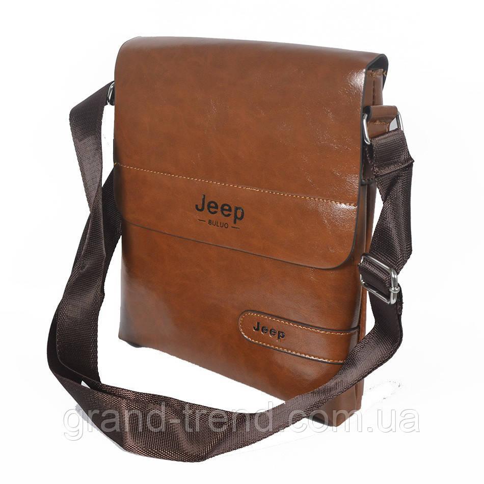 af87aa1089c5 Стильная мужская сумка через плечо Jeep из кожзама - интернет магазин GRAND- TREND в Хмельницком