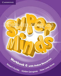 Super Minds 6 Workbook with Online Resources / Рабочая тетрадь