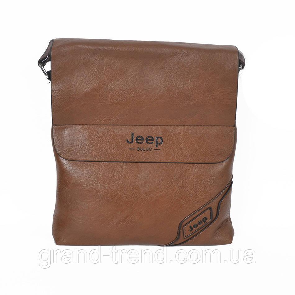 19242dc5b4db Стильная мужская сумка через плечо Jeep из кожзама, цена 385 грн., купить в  Хмельницком — Prom.ua (ID#666035723)