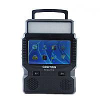 Портативный аккумулятор, солнечная панель, GDLiting Portable GD-8086, портативная батарея, маленький телевизор