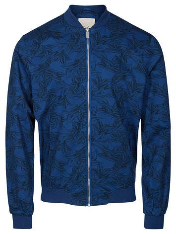 Легкая куртка темно синегоцвета Takuya от Tailored & Originals (Дания) в размере L, фото 2