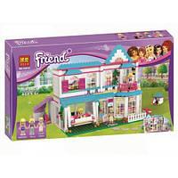 """Конструктор Bela 10612 """"Дом Стефани"""" (аналог LEGO Friends 41314), 649 дет"""