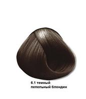 Mirella Краска для волос 6.1 темный пепельный блондин, 60 мл