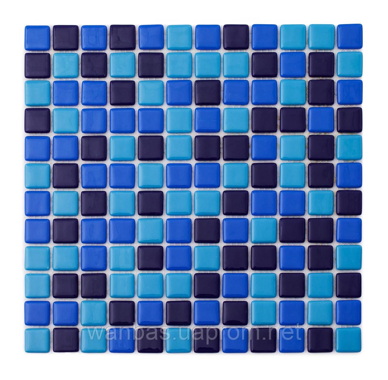 Стеклянный микс из мозаики   MX254020304 производства Украина