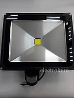 Прожектор светодиодный 50W с датчиком движения LEDEX