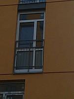 Oкно Комфорт Таун на балкон 1140х2610 REHAU Euro-Design 70 с энергоэффективным стеклопакетом