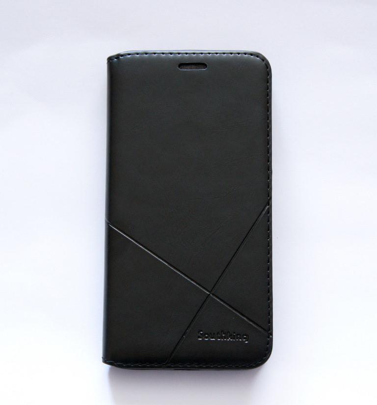 Чехол-книжка для смартфона Meizu M3 чёрная